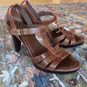 Boden Brown Strappy Sandals